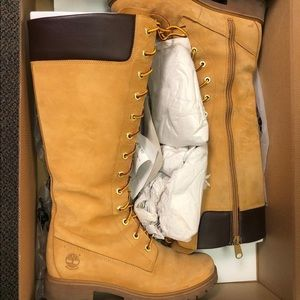 Timberland high laced boots